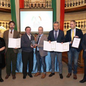 Premiazione in Sala Tricolore